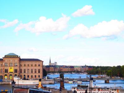 ストックホルムの港