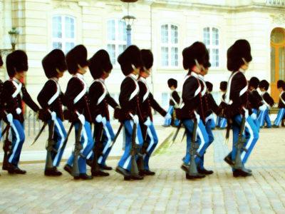 コペンハーゲンの衛兵交替式