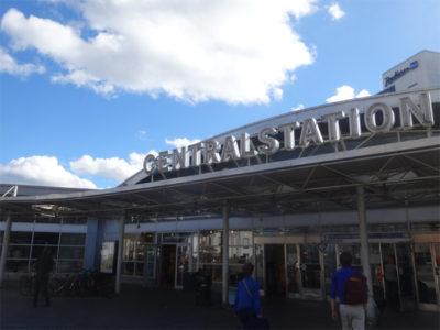 ストックホルムの中央駅