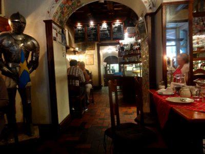 スウェーデン料理のレストラン、カフェ・ジレット