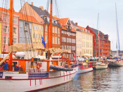 コペンハーゲンの観光スポット・ニューハウン