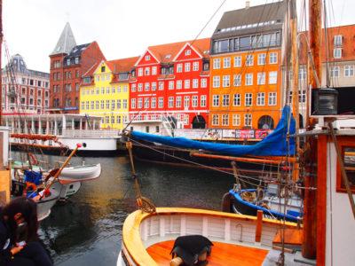 コペンハーゲンの木造家屋・ニューハウン