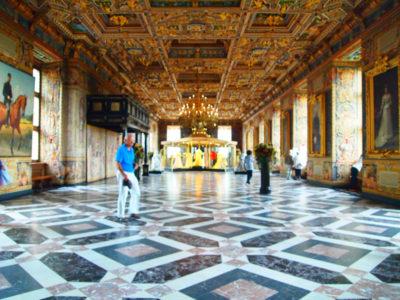 フレデリクスボー城の大ホール