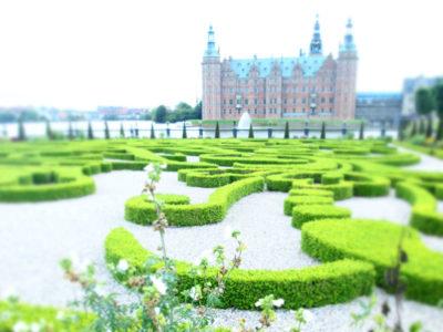 フレデリクスボー城・バロック様式の庭園
