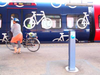 自転車で乗れるコペンハーゲンの近郊列車・エストー