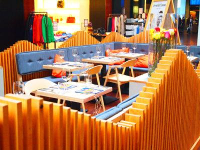 コペンハーゲン空港内のカフェ