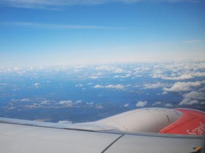 スカンジナビア航空でコペンハーゲンからストックホルムへ
