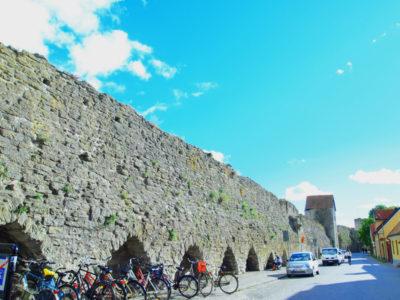 ヴィスビーの城壁