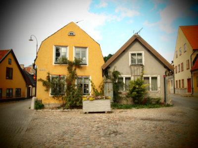ヴィスビーの黄色い家