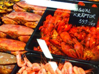 スウェーデンのスーパーのザリガニ