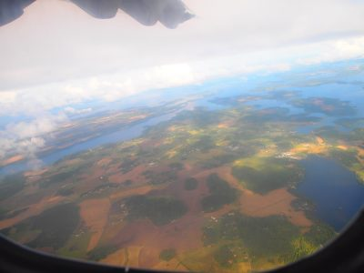 空からのゴットランド島