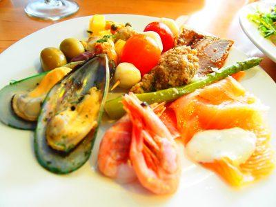 タリンクシリヤラインのディナー