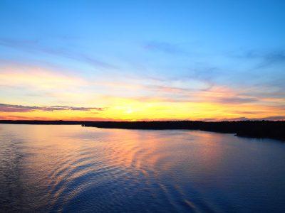 船上からのバルト海