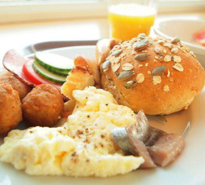 テグネルルンデンホテルの朝食