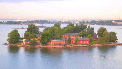 タリンクシリヤラインから見るヘルシンキ沖