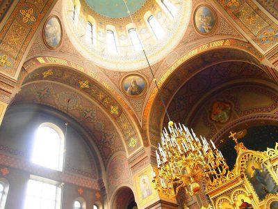 ウスペンスキー寺院の内部