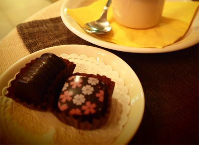 タリンのチョコレート