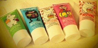 ムーミンの歯磨き粉