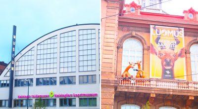 ヘルシンキの市立美術館と自然史博物館