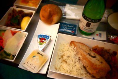 ターキッシュ・エアライン機内食