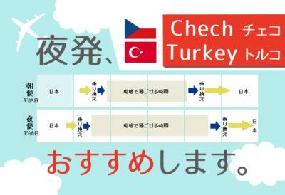 深夜便は便利!会社員の私が5連休でヨーロッパ+トルコ旅行した方法