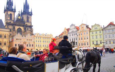 プラハの馬車