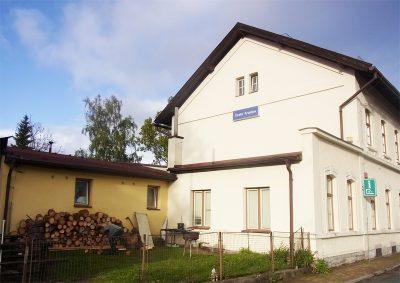チェスキークルムロフ駅舎