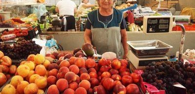 ナザレの市場