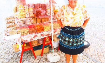 ナザレの伝統衣装・7枚重ねスカート