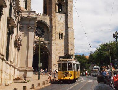 リスボンの町並み