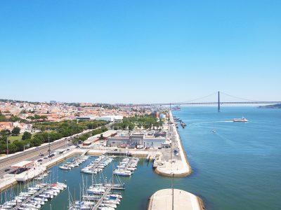 テージョ川とリスボン