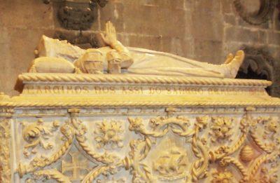 ヴァスコ・ダ・ガマの棺
