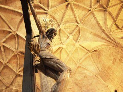 ジェロニモス修道院のキリスト像