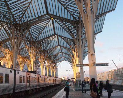リスボンのオリエンテ駅