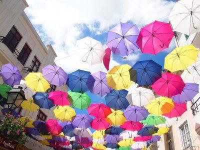 アゲダの傘の道