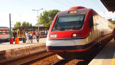 ポルトガルの高速列車AP