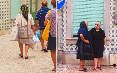 ナザレ伝統衣装の7枚重ねスカート