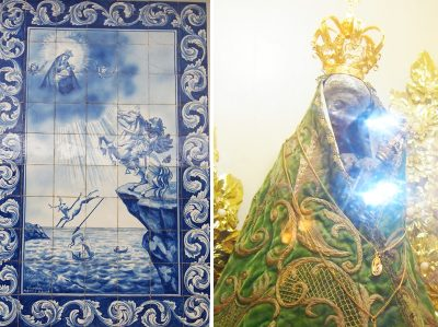 ノッサ・セニョーラ・ダ・ナザレ教会の聖母マリア