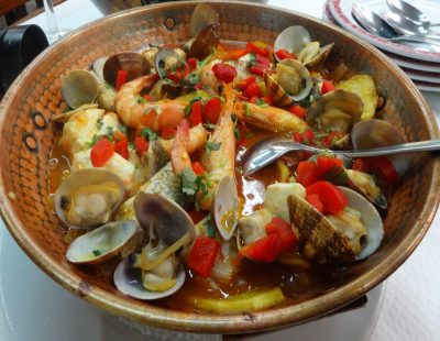 ポルトガルの鍋料理カタプラーナ