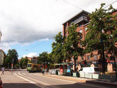 ヘルシンキのトラム停留所