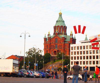 ヘルシンキのウスペンスキー教会
