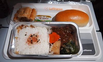 ルフトハンザ機内食