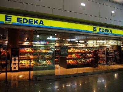 ミュンヘン空港のスーパーEDEKA