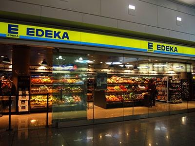 ミュンヘン空港のスーパー