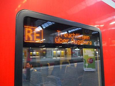 ドイツ鉄道のRE