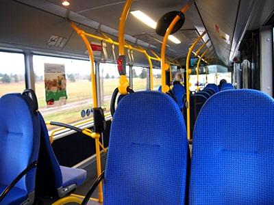 DBバスの車内