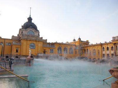 ブダペストのセーチェニ温泉