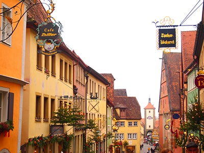 ロマンティック街道の街ローテンブルク