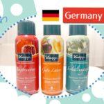 ドイツのお土産に♪クナイプのバブルバス入浴剤シャウムバドがスゴい