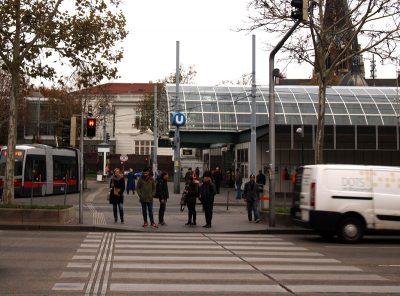ウィーン地下鉄西駅